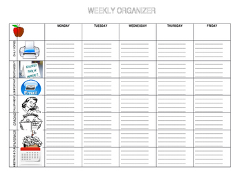 Weekly Planner and Organizer