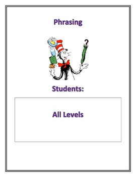 Fluency Center Posters: Phrasing