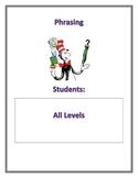 Fluency Center Posters: Phrasing