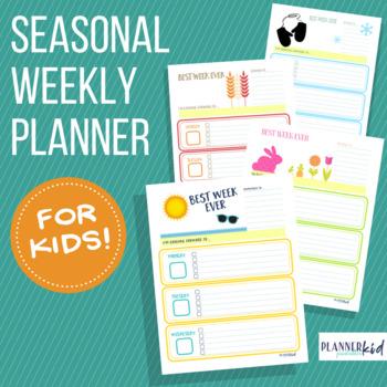 Four Seasons Weekly Planner Bundle