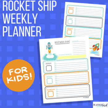 Rocketship Weekly Planner