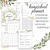 Weekly Planning Printable- Charlotte Mason Style Lessons