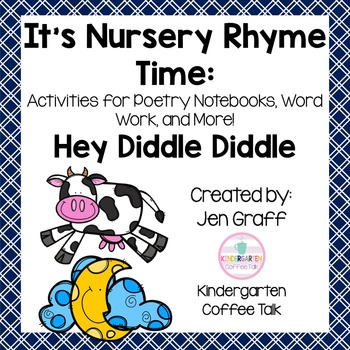 It's Nursery Rhyme Time: Hey Diddle Diddle