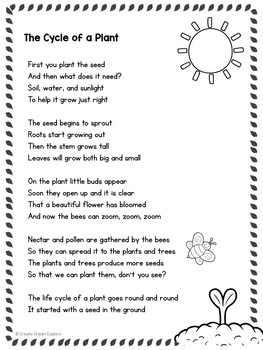 Poem Of The Week With Original Poetry And Activities By