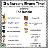 It's Nursery Rhyme Time! The Bundle