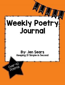 Weekly Poetry Journal