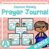 Weekly Prayer Tab Book Seasons **BUNDLE**