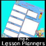 Preschool Lesson Planners