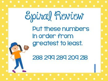 Weekly Problem of the Day and Spiral Review Set #14