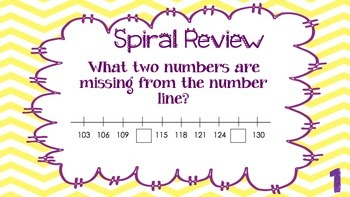 Weekly Problem of the Day and Spiral Review Set #4