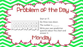 Weekly Problem of the Day and Spiral Review Set #5