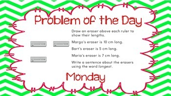 Weekly Problem of the Day and Spiral Review Set #6