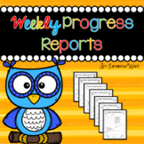 Weekly Progress Reports