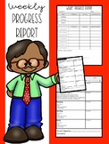 Weekly Progress Reports