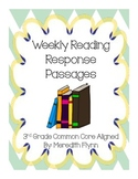 Weekly Quick Reading Passages for Comprehension - Common C