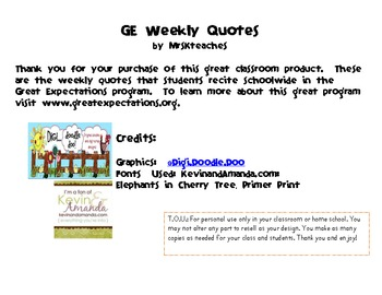 Character Building Quote of Week, Camping Themed