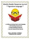 Weekly Reader Response Journal - Figurative Language