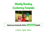 Weekly Reading CONFERRING Template
