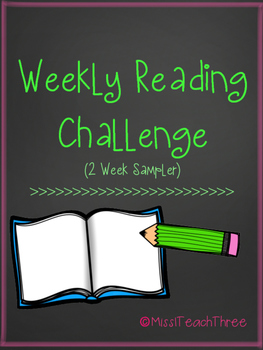 Weekly Reading Challenge - 2 week sampler