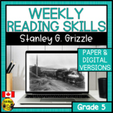 Weekly Reading Comprehension Skills | Stanley G. Grizzle