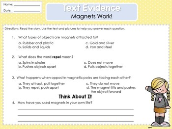 Weekly Reading Graphic Organizers (Unit 3, Week 1) 2nd Grade