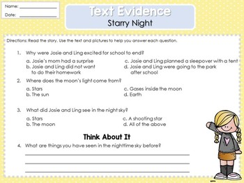 Weekly Reading Graphic Organizers (Unit 3, Week 2) 2nd Grade