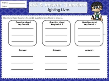 Weekly Reading Graphic Organizers (Unit 3, Week 3) 2nd Grade