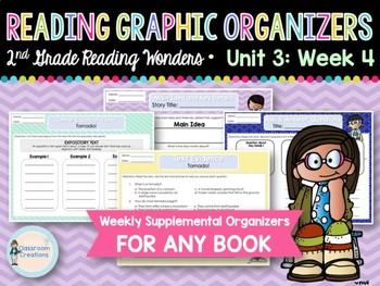 Weekly Reading Graphic Organizers (Unit 3, Week 4) 2nd Grade