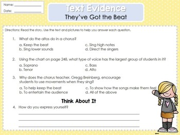 Weekly Reading Graphic Organizers (Unit 3, Week 5) 2nd Grade