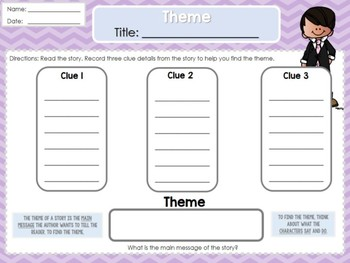 Weekly Reading Graphic Organizers (Unit 4, Week 4) 2nd Grade