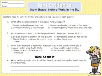 Weekly Reading Graphic Organizers (Unit 4, Week 5) 2nd Grade