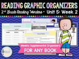 Weekly Reading Graphic Organizers (Unit 5, Week 2) 2nd Grade
