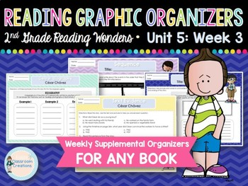 Weekly Reading Graphic Organizers (Unit 5, Week 3) 2nd Grade