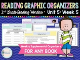 Weekly Reading Graphic Organizers (Unit 5, Week 5) 2nd Grade