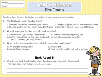 Weekly Reading Graphic Organizers (Unit 6, Week 3)
