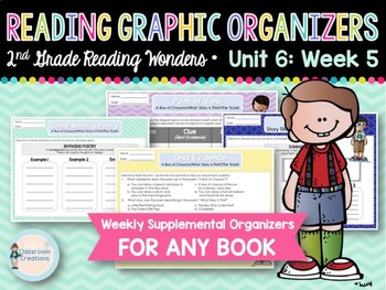 Weekly Reading Graphic Organizers (Unit 6, Week 5)
