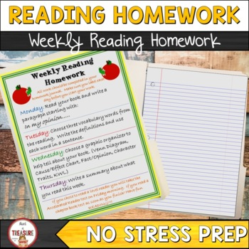 Weekly Reading Homework