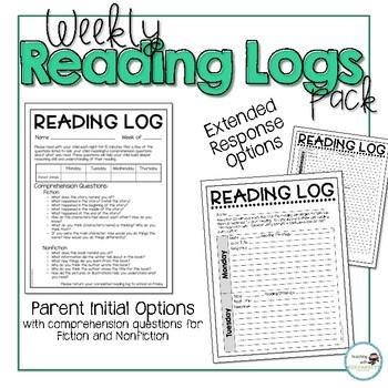 Weekly Reading Log