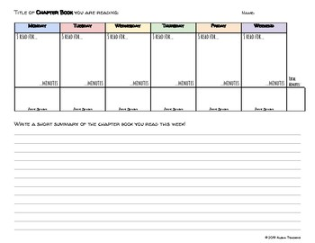photograph about Weekly Reading Log Printable named Weekly Looking at Log Printable