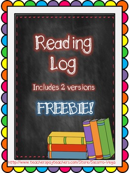 Weekly Reading Logs!
