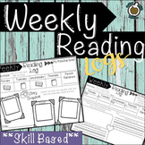 Weekly Reading Logs: Skill based