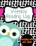 Weekly Reading Logs / Menu