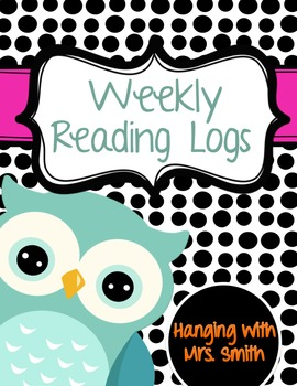 Weekly Reading Logs / Menu