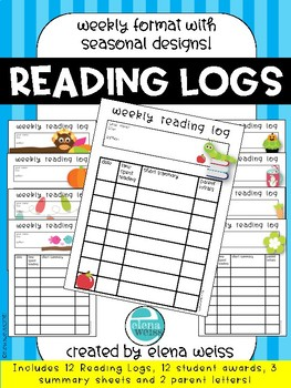 Weekly Reading Logs