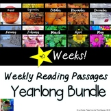 Weekly Reading Passages YEARLONG Bundle