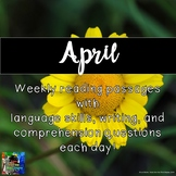 Weekly Reading Passages for April