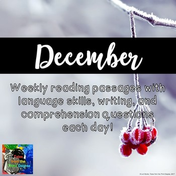 Weekly Reading Passages for December