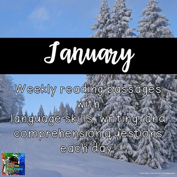 Weekly Reading Passages for January