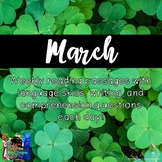 Weekly Reading Passages for March