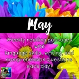 Weekly Reading Passages for May